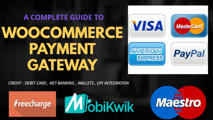 integrate any payment gateway in your any websites