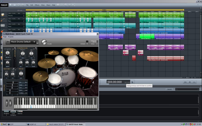 yagimarsha : I will magix music maker for simple project for $40 on  www fiverr com