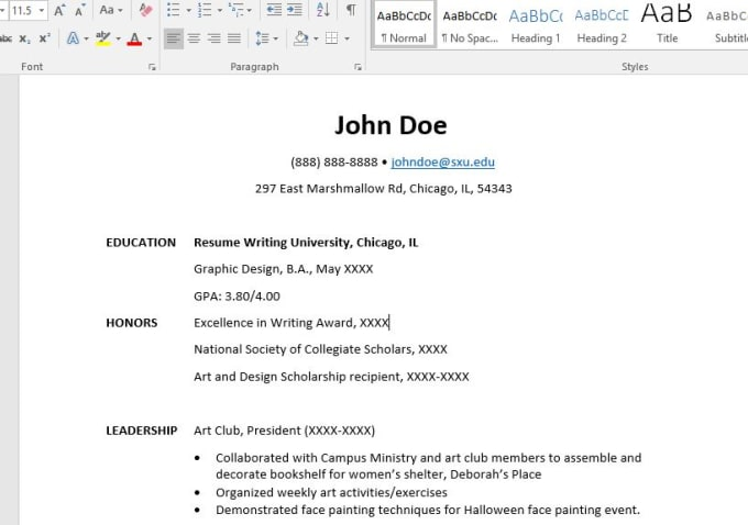write you an attention grabbing resume