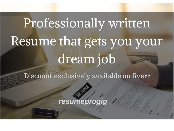write you solid resume and cover letter by resumeprogig