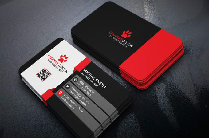 design professional business cards for any type