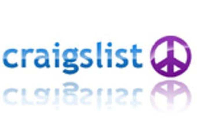 shooting4rank : I will post 2 ads in Las Vegas Craigslist for $5 on  www fiverr com