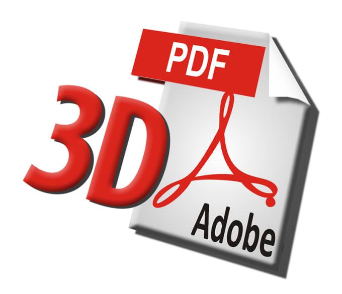 convert cad data into 3d pdfs