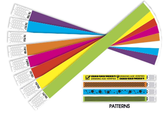 create tyvek wristband template for you by eaglemasterco