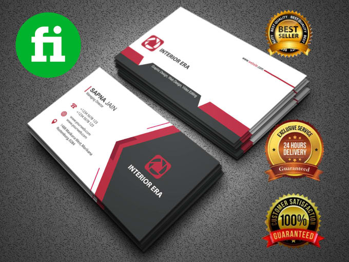 Design Unique Business Card With Two Concepts By Designerzahed