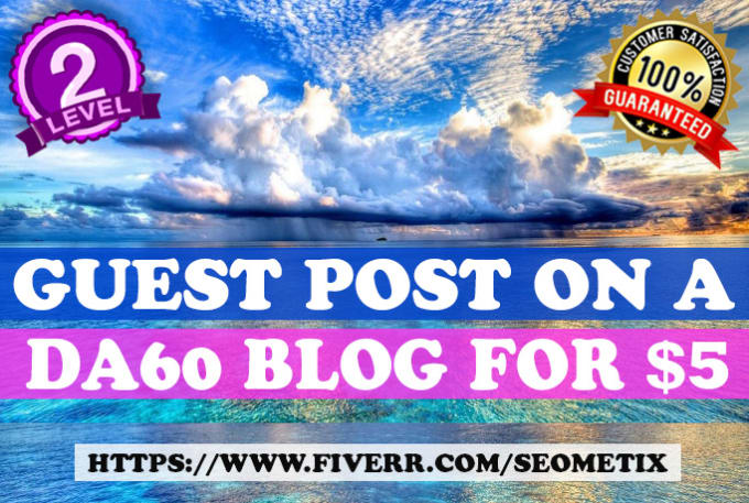 do guest post on high authority general site da60