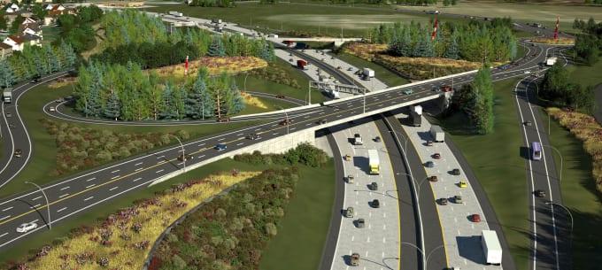 road design by civil 3d