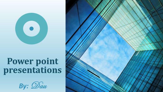 create a powerful powerpoint presentation by dau804