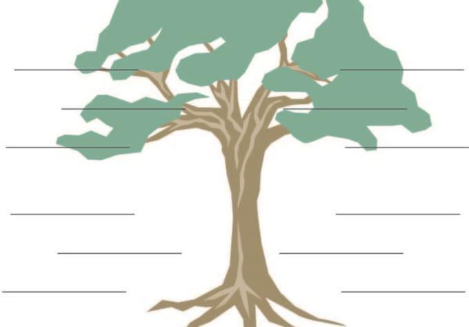 create a fake family tree using celebrity names cartoon characters