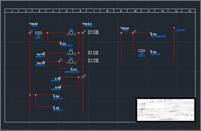 Incredible Draw Autocad Electrical Electrical Schematic Plc Piping And Wiring Digital Resources Hetepmognl