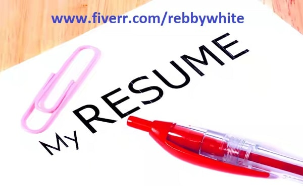write rewrite and edit your resume cv cover letter linkedin