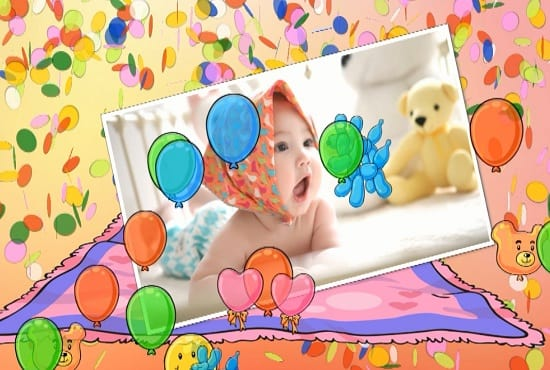 Make awesome happy birthday wish video for your baby by faysal111 make awesome happy birthday wish video for your baby m4hsunfo
