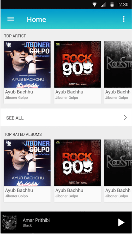offline music app for android