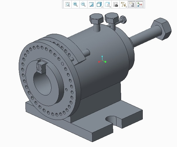malaharish : I will do cad modeling, designing in creo, catia for $5 on  www fiverr com