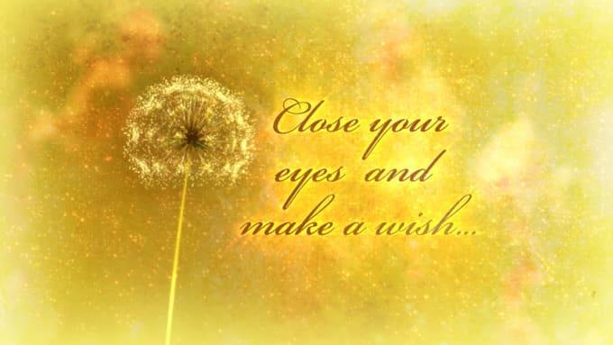 make your wish come true