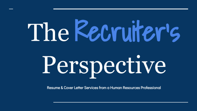 Create The Perfect Resume Or Cover Letter By Matthewthom