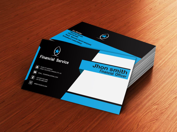 Design Smart Eye Catching Business Card By Shaonkishor