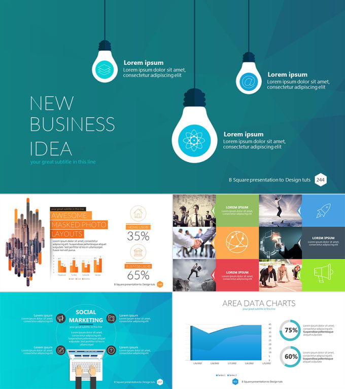 create a professional and innovative presentation by manahill