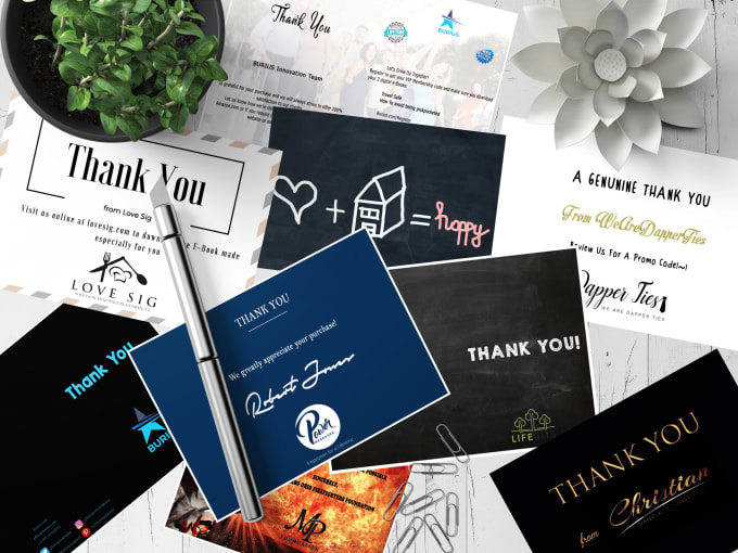 Design You A Custom Amazon Thank You Card By Ir1graphics