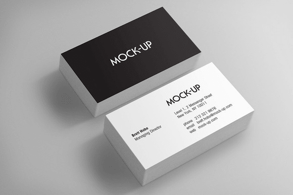 Design neat prefect business card by divakarpeter colourmoves