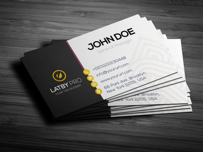 Design Professional Business Card Templates Within 24 Hours By