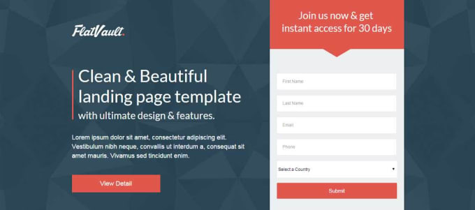 Create Landing Page And Marketo Landing Page By Meliash - Marketo landing page templates