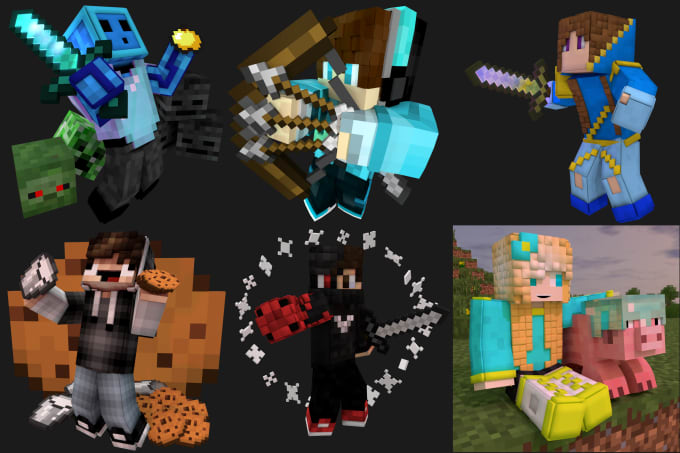 Create A 3d Minecraft Profile Picture Or Wallpaper By Camosnipe