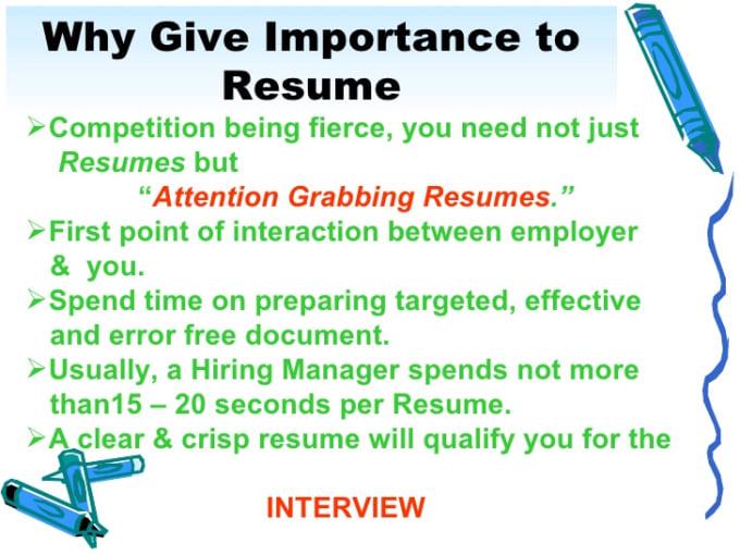 Create A Resume For You By Innovativekamal
