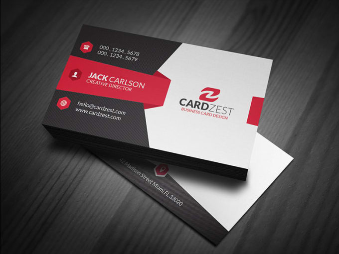 Design You Eye Catching Business Card By Ahasan789