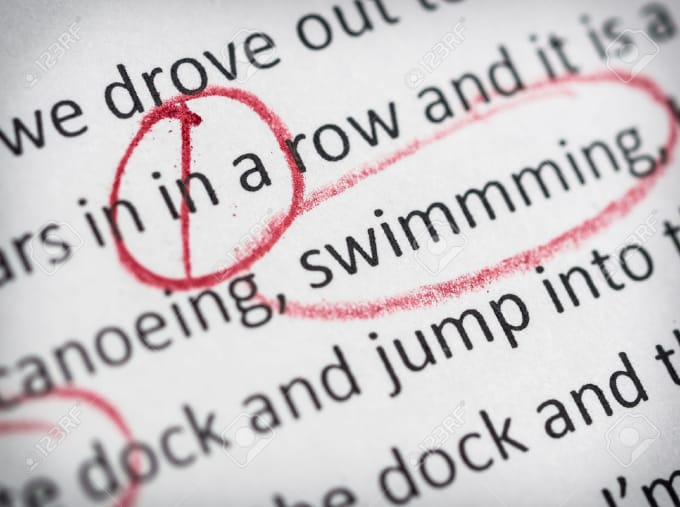 proof reading editing Professional English proofreading and editing services