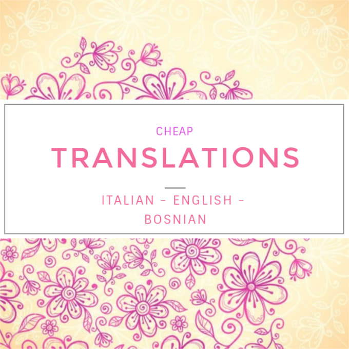 Translator Italian: Translate Italian To English By Meliinukic