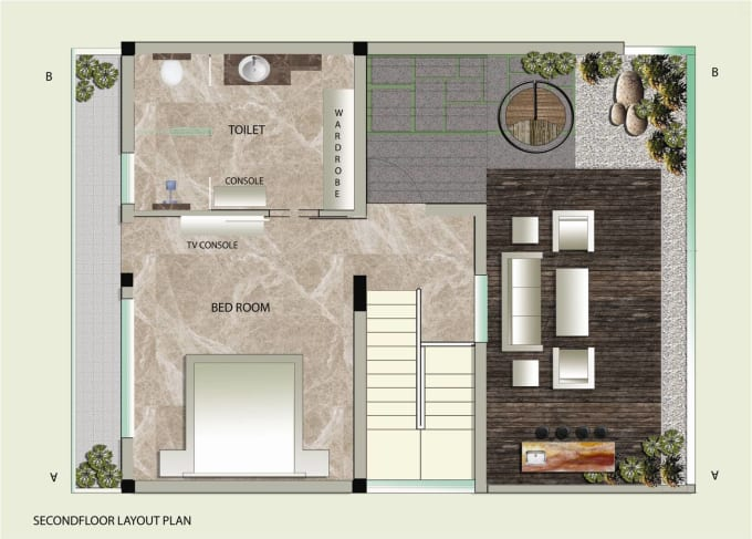do photoshop editing for architects and interior designers