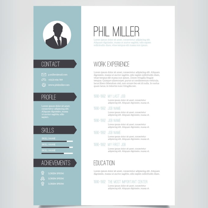 write and rewrite a rich and eye catching cv  resume by