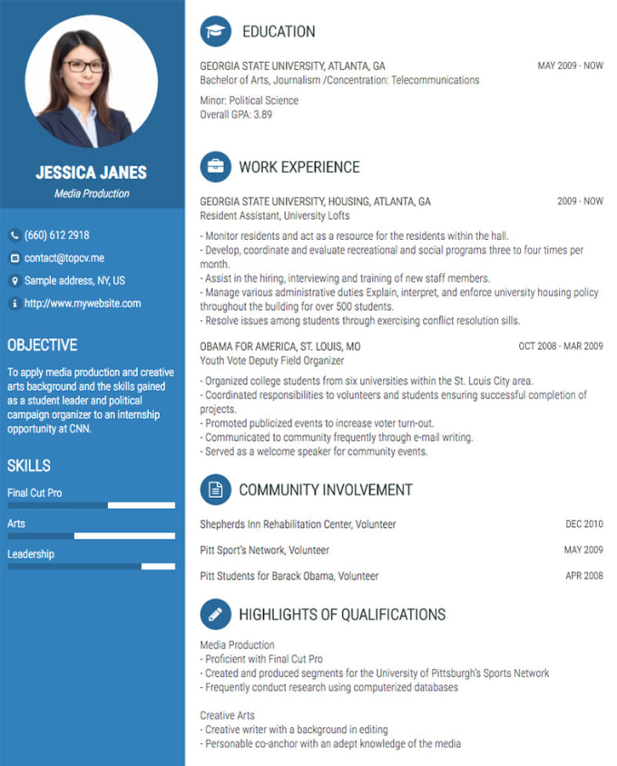 create a professional resume and upgrade your linkedin by dennislaah
