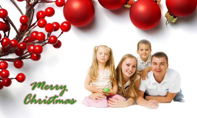 Create a custom christmas card by smileonme create a custom christmas card m4hsunfo