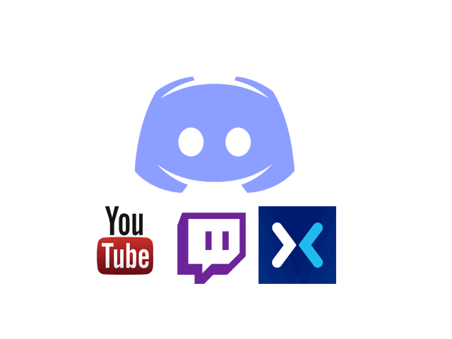 create a bot for discord youtube twitch and or mixer