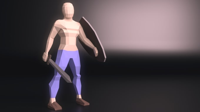 mrpanth : I will create a rigged low poly 3d model for $10 on www fiverr com