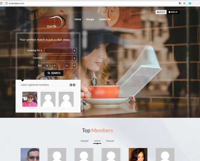 how to build a online dating website