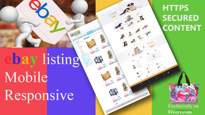 Make Ebay Listing Template Mobile Responsive And Https Secured By - Make ebay template