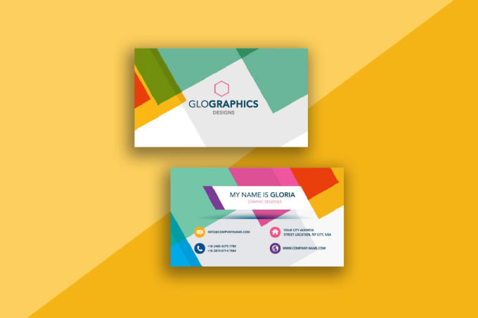 Design a colorful business card under 24 hours by glografixdesign design a colorful business card under 24 hours colourmoves