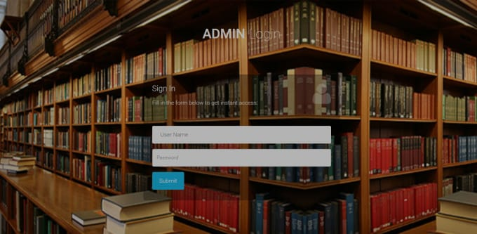develop library management system by php  laravel
