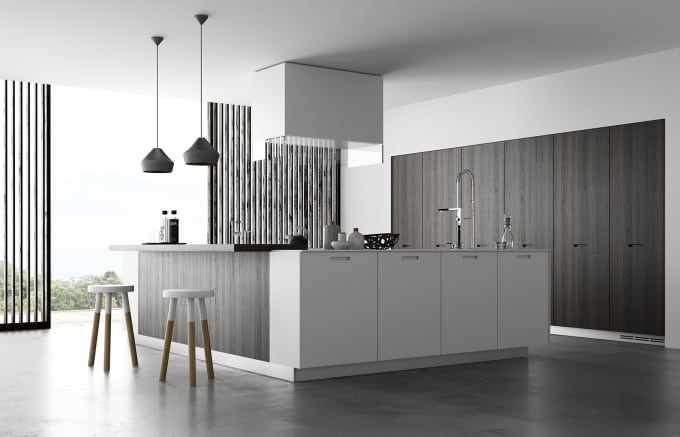 Model And Render Kitchen Interior Spaces By Morrhenry