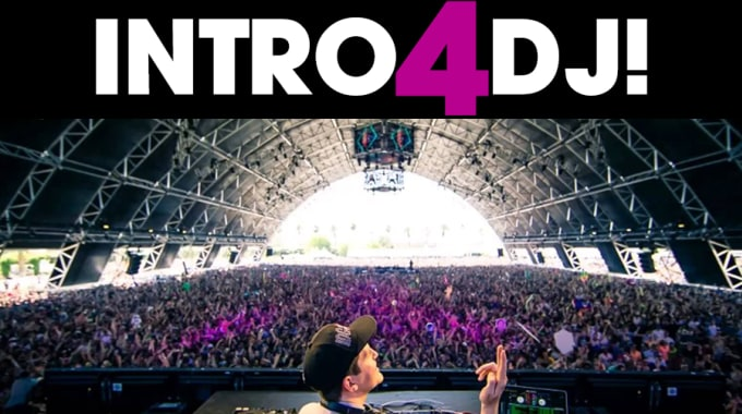 make a professional opener intro for dj