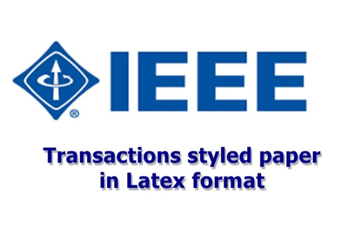 rizwank1 : I will create ieee transaction document in latex for $10 on  www fiverr com