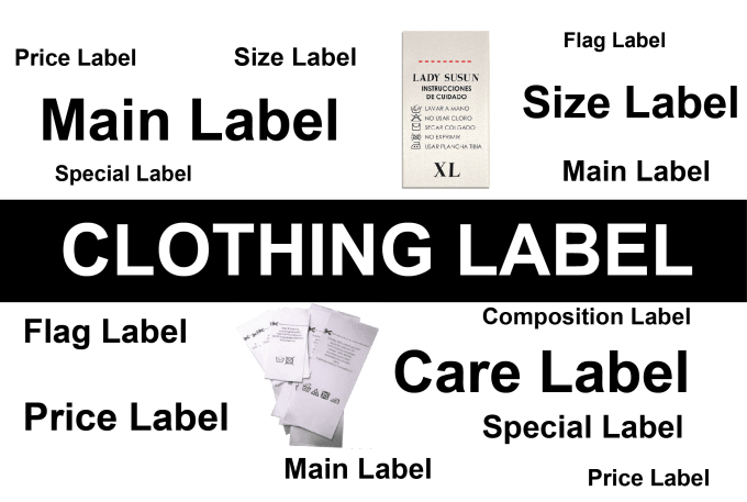 Do Clothing Labels Tags Care Instruction Label Design By Arshadali965