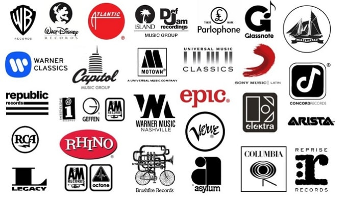 send your music to 10 major record labels and 4 free ones