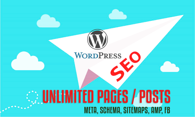 I will do full SEO optimization for your wordpress site, unlimited pages and posts