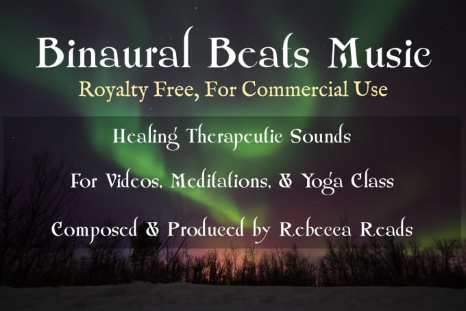 provide binaural beats brainwave ambient music royalty free