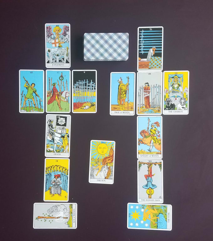 missaria136 : I will provide a relationship tarot spread for $10 on  www fiverr com