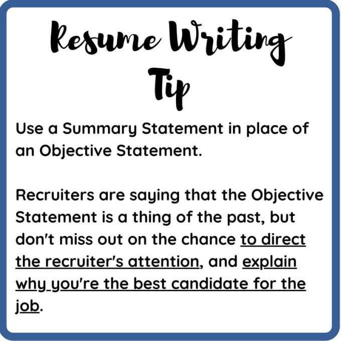 Be Your Resume Writing Guide